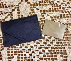 Vintage Navy Blue Faille Clutch Purse with Mirror Cheap Purses, Unique Purses, Cute Purses, Purses For Sale, Handbags On Sale, Purses And Handbags, Wholesale Purses, Wholesale Handbags, Handbags For School