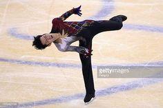 Daisuke Takahashi of Japan skates in Men Free Skating during Cup of China ISU Grand Prix of Figure Skating 2012 at the Oriental Sports Center on...