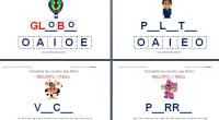 COMPLETA LAS VOCALES QUE FALTAN RECORTANDO Y PEGANDO Bingo, Language, Content, Teaching, School, Ideas, Alphabet, Learning, Read And Write