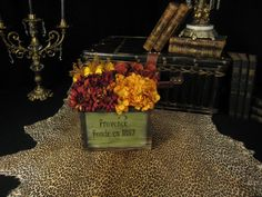 Provence French Market Square Floral Arrangement by tapestryoflife, $79.00