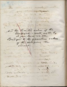 "7/5 Draft of the poem ""After all, Not to Create Only"" - Whitman"