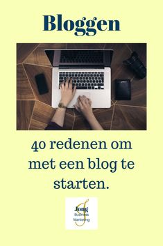 Wil je gaan bloggen, maar twijfel je nog?   Lees dan deze blog waarin ik jou 40 redenen geef waarom je vandaag nog zou moeten beginnen met bloggen. Business Tips, Entrepreneur, Success, Advice, Marketing, Blogging