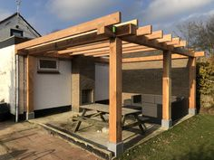 Backyard Pavilion, Backyard Patio Designs, Backyard Pergola, Outdoor Landscaping, Gazebo, Carport Designs, Pergola Designs, Aluminum Patio Awnings, Building A Pergola