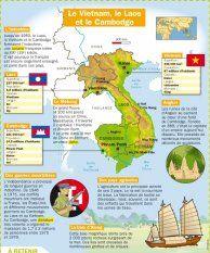 Le Vietnam, le Laos et le Cambodge