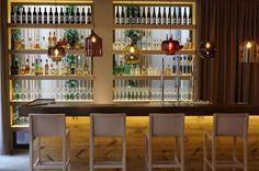 DÖLLERER'S GENUSSWELTEN - Picture gallery Irish Bar, Cafe Restaurant, Cool Lighting, Liquor Cabinet, Storage, Gallery, Modern, Table, Salzburg