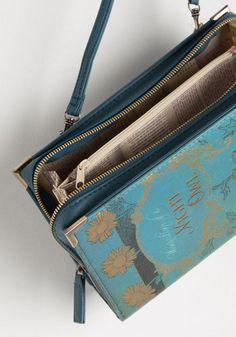 Elusive Edition Bag in Blue | Mod Retro Vintage Wallets | ModCloth.com