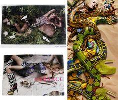 Spring fashion advertisements 2010