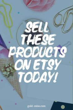 Sell these products on Etsy today! Selling on Etsy tips from Gold Miss. How to start selling on Etsy. Etsy Ideas. Sell on Etsy for extra cash. Etsy products that sell. Handmade products that sell on Etsy. What to sell on Etsy. Things to sell on Etsy. Small business on Etsy. #etsy #etsyshop #etsyseller #momhacks #momgoals