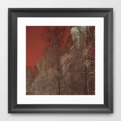 Out of my window Framed Art Print by Armine Nersisyan - $37.00