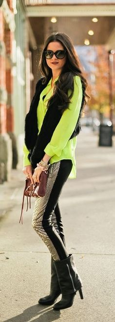 ♥ neon style!!!