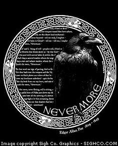Arkham Bazaar - Edgar Allan Poe - Nevermore shirt, $19.99 (http://arkhambazaar.com/t-shirts-apparel/all-t-shirts/edgar-allan-poe-nevermore-shirt/)