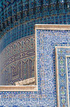Gur-e Amir (Guri Amir, گورِ امیر) Mausoleum, Samarkand (Samarqand, Самарқанд, سمرقند), Uzbekistan (O'zbekiston, Ўзбекистон) | por Loïc BROHARD
