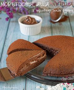 Nutella Funny, Just Desserts, Dessert Recipes, No Bake Nutella Cheesecake, I Love Chocolate, Food Obsession, Diy Food, Sweet Recipes, Food To Make