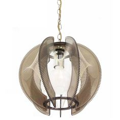 Smoked Lucite Mid-Century Modern Light Fixture | From a unique collection of antique and modern chandeliers and pendants at https://www.1stdibs.com/furniture/lighting/chandeliers-pendant-lights/