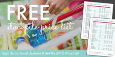free stockpile price list