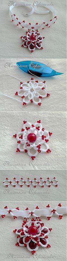 Bársonyszalaggal Scarlet Virág / Virág hangulatban / PassionForum - mesterkurzusokon kézimunka