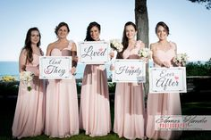 These are the Algarve wedding bridesmaids for Estelle and Steve, we brought some cards along so they could send the new weds a message...great way to end an Algarve Wedding Album.