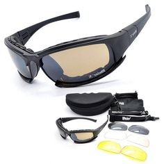 99b67d60ff1b7 Tactical X7 Glasses Military Goggles Army Sunglasses With 4 Lens Origi –  Miltact.com Lentes