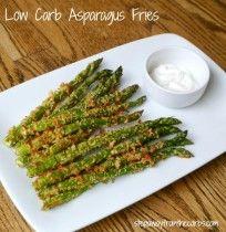 Low Carb Asparagus Fries