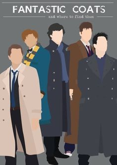Supernatural, Fantastic Beasts, Sherlock, Doctor Who, and Torchwood