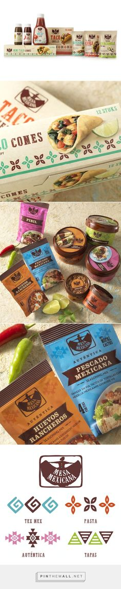 Mesa Mexicana         on          Packaging of the World - Creative Package Design Gallery - created via http://pinthemall.net