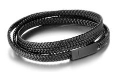 Chic Bow Tie is a Vancouver Canada-based company specializing in men's accessories such as tungsten rings, bracelets, and wooden bow ties. Black Leather Bracelet, Leather Bracelets, Black Tungsten Rings, Tie Colors, Stainless Steel Rings, Black Rings, Wedding Ring Bands, Metal Jewelry, Leather Men