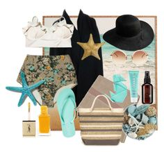 """Anything Swim!"" by an-open-mind ❤ liked on Polyvore featuring Linda Farrow, Rip Curl, Pier 1 Imports, Yves Saint Laurent, COOLA Suncare, Splendid, John Masters Organics and Kate Spade"