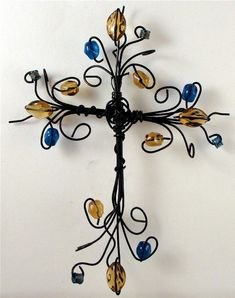 Wire Cross.....i think i could make this