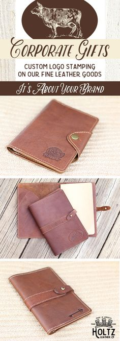 Holtz Leather Co. offers a great selection of corporate gifts, all custom branded with your company logo. These are great gifts for your employees, customers, or clients.