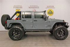 This Unlimited is ready for an Auto Jeep, Jeep Jk, Jeep Cars, Jeep Truck, Jeep Wrangler Rubicon, Jeep Wrangler Unlimited, Cool Jeeps, Cool Trucks, Badass Jeep