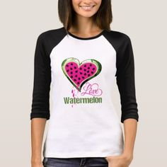 #Watermelon Love T-Shirt - #dog #doggie #puppy #dog #dogs #pet #pets #cute #doggie #womenclothing #woman #women #fashion #dogfashion