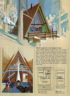 Tiny A-frame Cabin