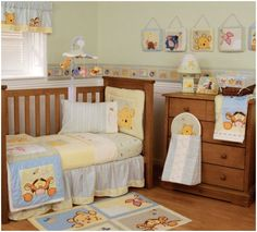 How Cute Is This Winnie The Pooh Nursery Enter To Win Yours Here Http