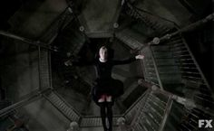 Sister Mary Eunice (Lily Rabe) takes a long walk off a short pier in episode 10 of FX's American Horror Story: Asylum