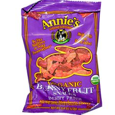 Annie's Homegrown, Organic Bunny Fruit Snacks Berry Patch, 0.8 oz (23 g)