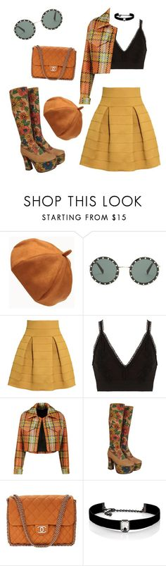 """"""""""" by mirka-smalova ❤ liked on Polyvore featuring Valentino, H&M, River Island, Emilia Wickstead, Chanel and Kenneth Jay Lane"""