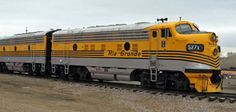 (F9(A)). Rio Grande #5771 EMD Diesel locomotive. (AAR) B-B, 1750 H.P.. Built 1953-60