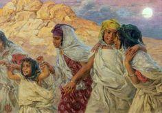 Farandole de jeunes filles- Etienne Dinet