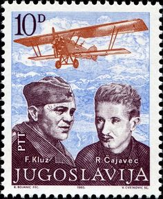 Yugoslavia Stamp 1985 - Kluz & Cajavec Old Stamps, World 2020, One Republic, Stamp Collecting, Pin Collection, Postage Stamps, Wwii, History, Eagles