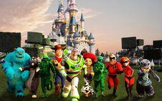 Pixar Characters