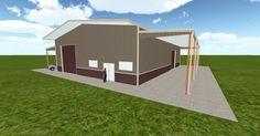Dream #steelbuilding built using the #MuellerInc web-based 3D #design tool http://ift.tt/1l9Nw7D