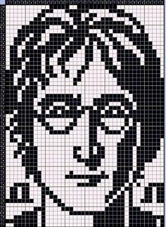 Graph Crochet, Pixel Crochet, Seed Bead Patterns, Weaving Patterns, Cross Stitch Designs, Cross Stitch Patterns, Cross Stitching, Cross Stitch Embroidery, Pixel Art