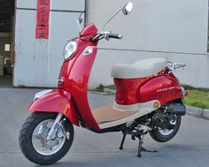 2009 Peace 50cc Italian Style Gas Scooter Moped   $878.33 with free delivery. One day you will be mine!