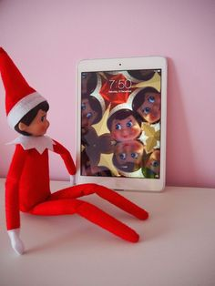 Looking for easy Elf on the Shelf Ideas? Kirsten and co. has 11 easy Elf on the Shelf ideas that tired mums and dads will love! #hotyoga #elfie #eots