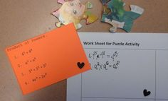 Dollar Store Puzzles group practice (Not Really a Worksheet) review - prize to first completed puzzle!