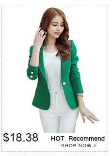 Mujer leopardo elegante chaqueta 2015 otoño coreano damas un botón de manga  larga trajes de negocios 917d0622bb9d