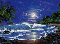 Paradise Beach Vektorgrafik - ForWallpaper.com