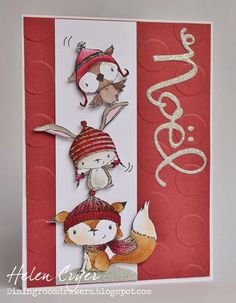 Purple Onion Designs: Holiday Happiness   card by Helen Cryer