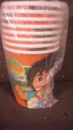 PARTY FAVORS 8 9OZ. CUPS GO! DIEGO! GO!