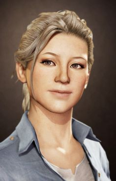 Uncharted 3  Elena Fisher